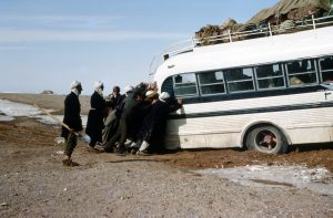 It takes everyone to move forward. Afghanistan, 1970. Photo: Wlll Anderson